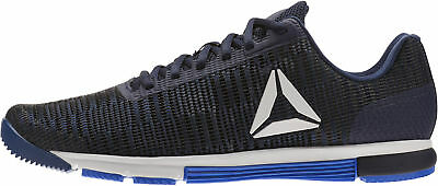 57e2aaf3fc6 REEBOK MENS SPEED TR Flexweave Training Gym Fitness Shoes Navy Blue ...