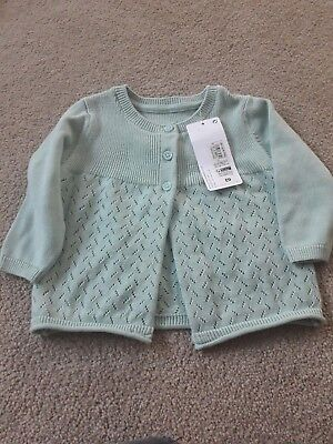 3 to 6 months girls cardigan new with tags