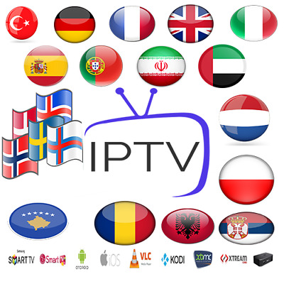 6 Months Iptv Subscription 5000 Ch+VOD Smart tv,IOS,fire-stick,MAG,Android