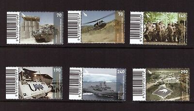 New Zealand MNH 2013 ANZAC Day,Military set mint stamps