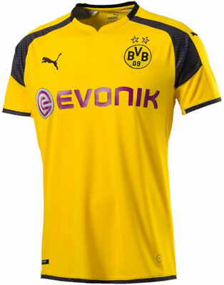 Puma BVB Dortmund UCL 2016/17 Mens Football Shirt