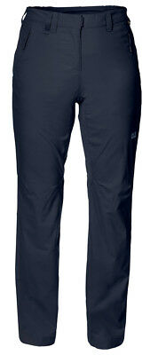 Jack Wolfskin Activate Light Softshell Womens Pants - Blue