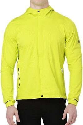 Asics Accelerate Mens Running Jacket - Yellow
