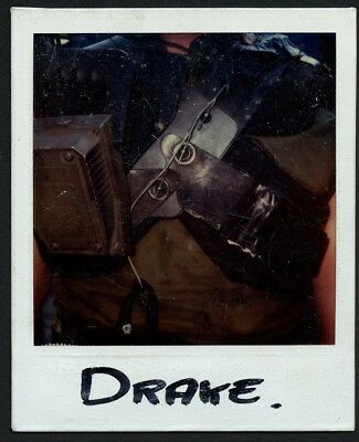 ALIENS Continuity polaroid character DRAKE movie production one of a kind! COA