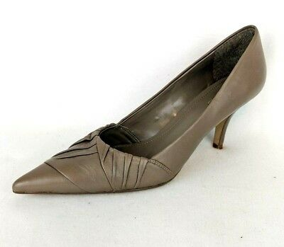 3553cd97e0e5 ALDO WOMEN S NUDE Leather Pointed Heels Pumps - Size EUR 39   US 8.5 ...
