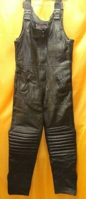 Sportex Leather Motorcycle Salopettes Trousers Size 38      ##bux B29 Jt