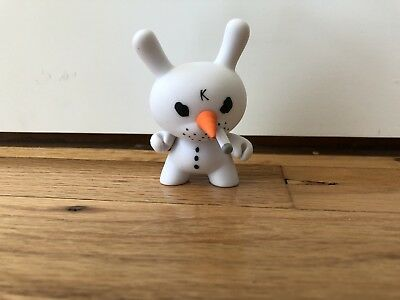 Figurine Spécial Noel Santa Holiday Elf Dunny Figure by Kozik /& Kidrobot 2015