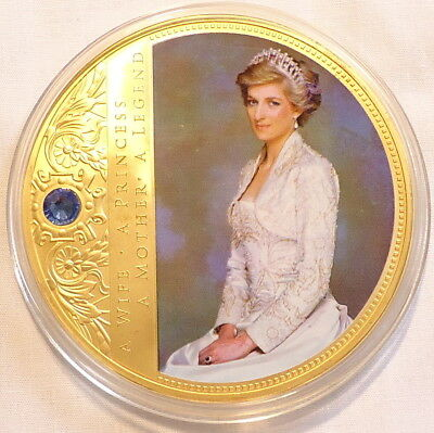 ST VINCENT 1 PRINCESS DIANA $20 GOLD FOIL LARGE 5.5CM X 9.5CM STAMPS