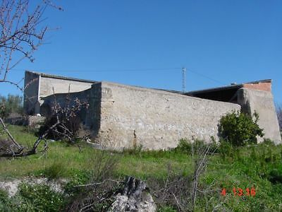 Reform An Old Finca Farmhouse 14 Acre Water & Electricity Muro De Alcoy Alicante