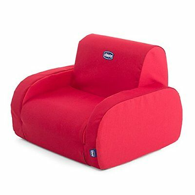 Chicco Twist Sillón para Niños, Transformable y Desenfundable,(Red)