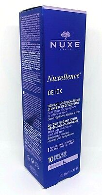 NUXE Nuxellence DETOX Detoxifying and Youth Revealing Anti-Aging Care 50ml Night