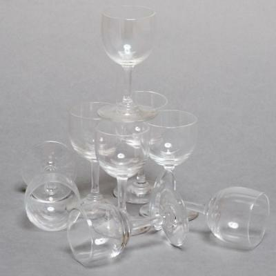 """Set Of 8 Baccarat Crystal """"montaigne"""" 3"""" Cordials Nice!"""