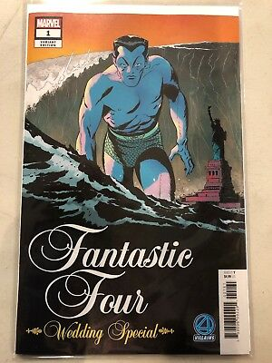 Fantastic Four Wedding Special #1 Variant VF-NM