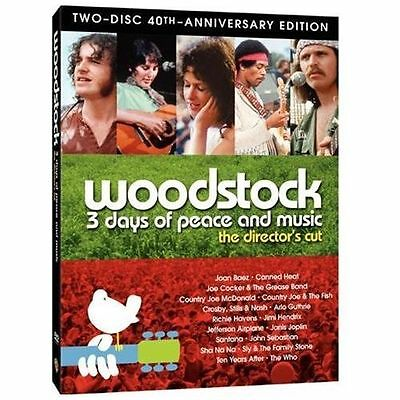 Woodstock: Three Days of Peace & Music the director's cut 40th anniversary