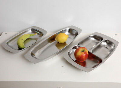 Old Hall - Robert Welch - 3 Vintage stainless serving dishes