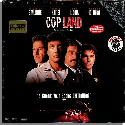 Cop Land (1997) - Sylvester Stallone, Harvey Keitel Action! Sealed LaserDisc!