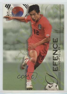 2008 Futera World Football Unique #024 Young-Pyo Lee Rookie Soccer Card