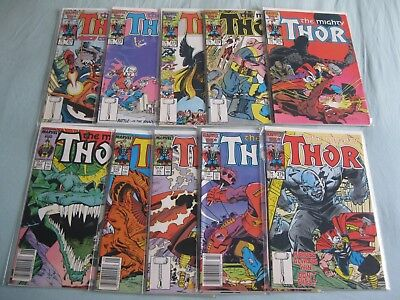 Thor 371 - 380 (10 comics). These  issues are from 1986/1987 - a good read