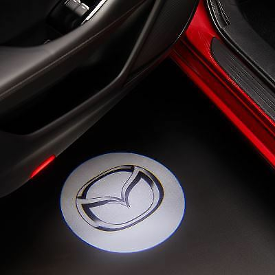 Genuine Mazda CX-5 2017> LED Door Illumination Mazda Logo Puddle Light