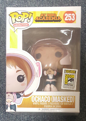 Funko Pop My Hero Academia Ochaco Masked SDCC Exclusive  Mint Condition