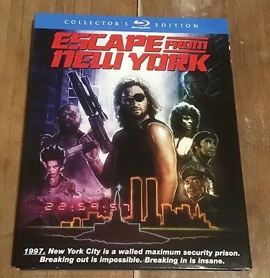 Escape From New York Scream Factory (Region A Blu-ray) With Slip-Cover