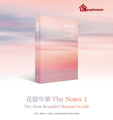 BTS THE NOTES 1 The Most Beautiful Moment In Life 花樣年華 ENG VER.+Note+Tracking
