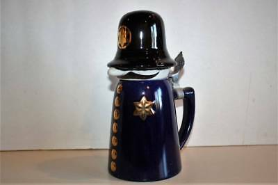 Schultz Dooley Officer Sudds Webco Brazil Lidded Beer Stein Utica Club