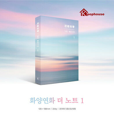 BTS THE NOTES 1 The Most Beautiful Moment In Life 花樣年華 KOR VER.+Note+Tracking