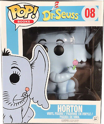 "Funko Pop! Books: Dr. Seuss HORTON Hears a Who! #08 Vinyl Figure 6"" Super Sized"