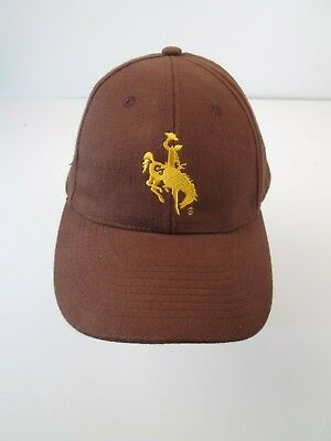 WYOMING HAT BASEBALL Cap COWBOY BUCKING BRONCO RODEO HORSE WILD WEST