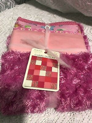 Pink Cuddly Quilt Kit
