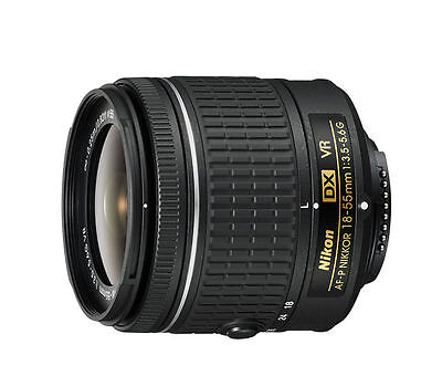 Nikon 18-55mm f/3.5-5.6G VR AF-P DX NIKKOR Zoom Lens ORIGINAL BOX