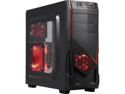 Six Core Gaming PC AMD Ryzen 8GB DDR4 500GB HDD Radeon RX 580 8GB 128GB SSD WIFI