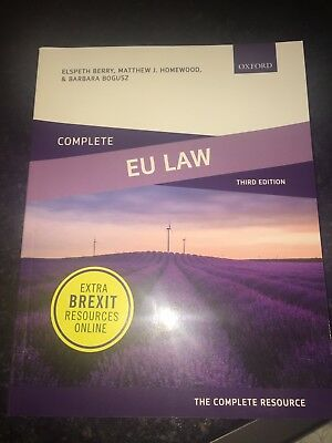 Book EU Law