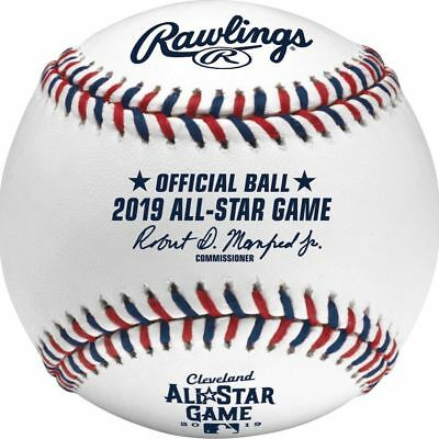 Rawlings MLB 2019 All Star Official Game Baseball Cleveland Indians Boxed