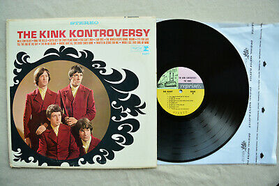 THE KINKS The Kink Kontroversy RS-6197 Reprise US 1st Steamboat Vinyl LP 1966 NM