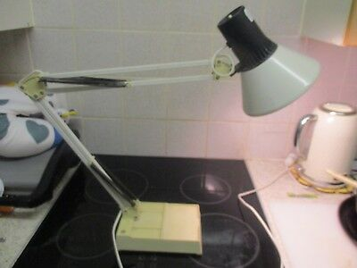 Large Anglepoise style desk / table lamp