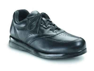 P.W. Minor Orthopedic Shoes 10350 Leisure Time Black Leather Oxford 7 N #57x