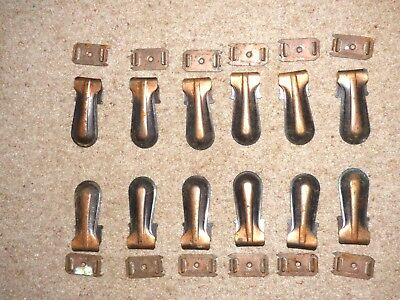 12, Stair Carpet Metal Clips And Back Clips