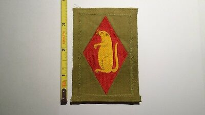 Extremely Rare WWI 206th Infantry Regiment Liberty Loan Style Patch. RARE!!!