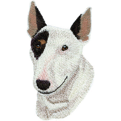 English Bull Terrier Kids Bathroom Set HAND TOWELS EMBROIDERED Beautiful