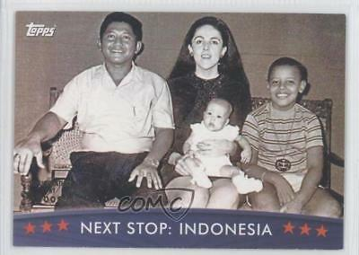 2008 Topps President Obama Collector Trading Cards #9 Next Stop: Indonesia 0f7