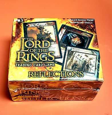 The Lord Of The Rings Lotr Reflections Sealed Box 24 Packs