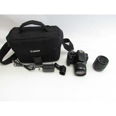 Canon EOS Rebel T6 18.0 MP Digital SLR Camera and 2 18-55mm IS II Lenses