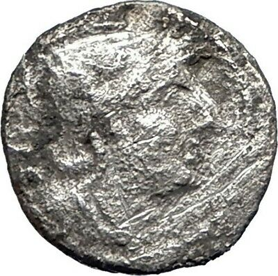 Roman Republic WARv HANNIBAL 2nd PUNIC WAR Ancient Silver SESTERTIUS Coin i74864