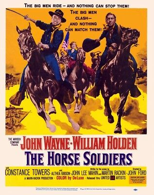 John Ford THE HORSE SOLDIERS 16mm Western feature film John Wayne