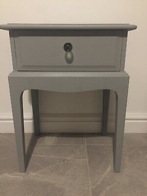 Stag Minstrel Bedside Tables (pair)-refurbished & painted in Fusion Mineral Grey