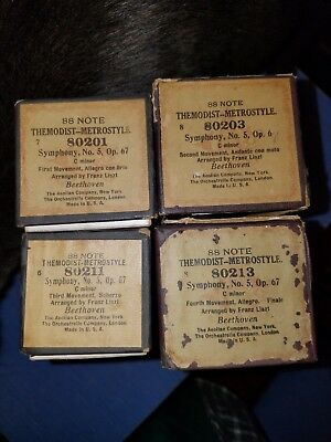 COLLECTIBLE PLAYER PIANO roll