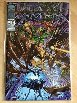 Image Comics US neufs : Crossover Marvel - Wildcats / X-Men - Silver Age