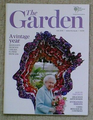 'The Garden' - July 2016 issue - RHS Royal Horticultural Society magazine